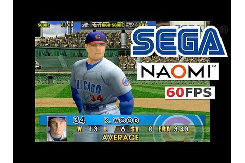 SEGA Super Major League '99 NAOMI Arcade Baseball on PC HD ...