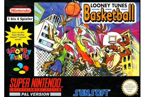 Mundo Retrogaming: Looney Tunes Basketball