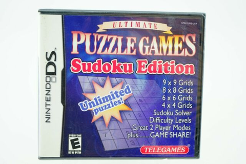 Ultimate Puzzle Games Sudoku Edition: Nintendo DS [Brand ...