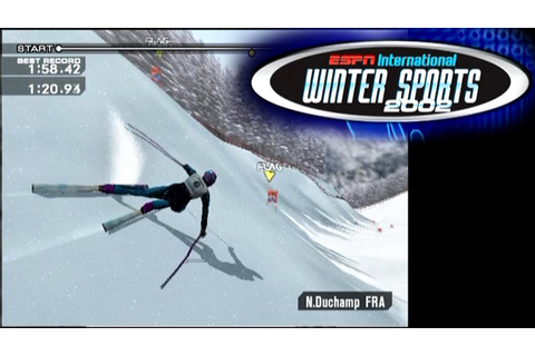 ESPN International Winter Sports 2002 ... (PS2) - YouTube
