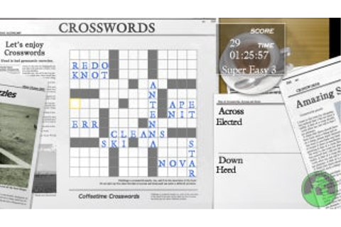 Coffeetime Crosswords - Xbox 360 - IGN