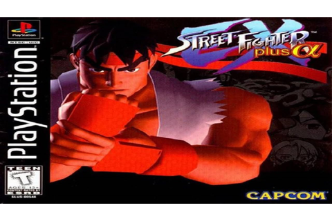 Street Fighter EX Plus Alpha (Playstation) - YouTube