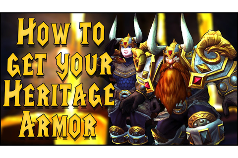 How to Get Your Own Dwarf Heritage Armor - Guide & In-Game ...