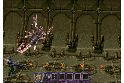 Contra: Legacy of War Screenshots for SEGA Saturn - MobyGames