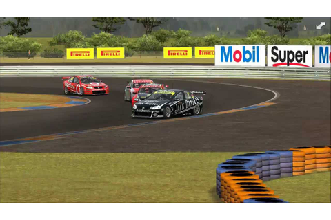 Game Stock Car 2013 - V8 Supercars, last lap shenanigans ...