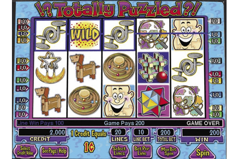 !? Totally Puzzled ?! slot machine by IGT (2004)
