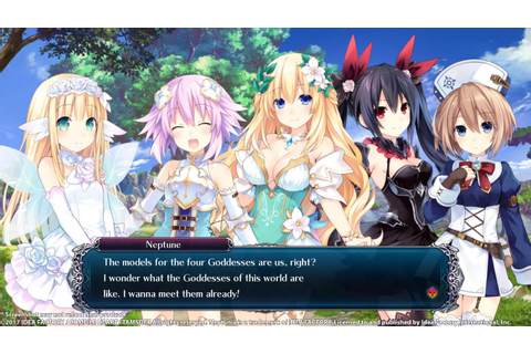 Cyberdimension Neptunia: 4 Goddesses Online Steam CD Key ...