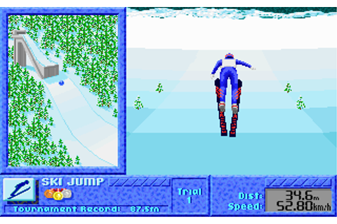 The Games: Winter Challenge | Old MS-DOS Games | Download ...