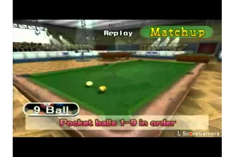 Cue Sports - Pool Revolution WiiWare Trailer - YouTube