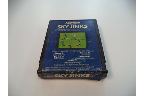 Atari 2600 Game Sky Jinks Game for Atari 2600 Video Game ...