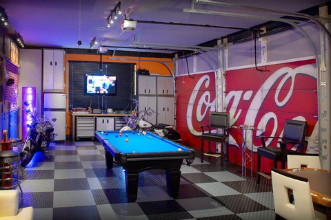 17 Best ideas about Garage Game Rooms on Pinterest ...