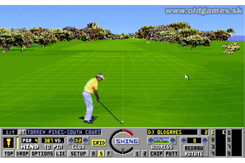Links: The Challenge of Golf :: DJ OldGames