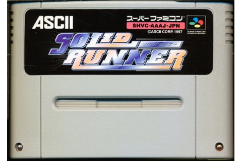 GAMES | Rakuten Global Market: SFC solid Runner (software ...