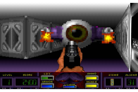 Download Corridor 7: Alien Invasion shooter for DOS (1994 ...