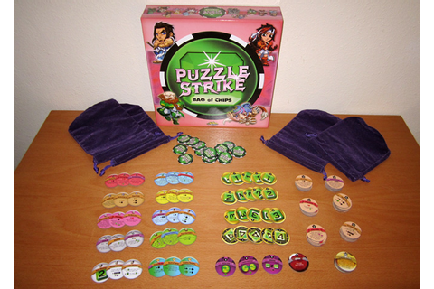 Puzzle Strike: Deck-Building, Street-Fighting, Gem-Crashing Game ...