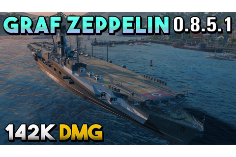 Graf Zeppelin: Weird Game - World of Warships - YouTube