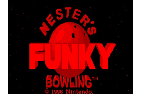 Nester's Funky Bowling 3D Gameplay (Virtual Boy 1996 ...