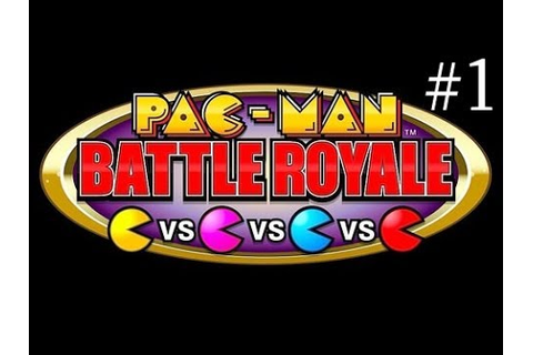 Pac-Man Battle Royale - Game 1 - Real Arcade - YouTube