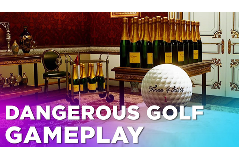 15 Minutes of DANGEROUS GOLF Gameplay — from the Creators ...