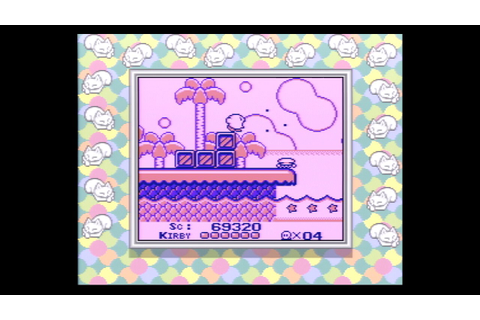 Kirby's Dream Land (Super) Game Boy Real Hardware 60fps ...