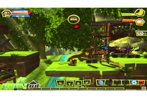 Monkey Quest Gameplay - First Look HD - YouTube