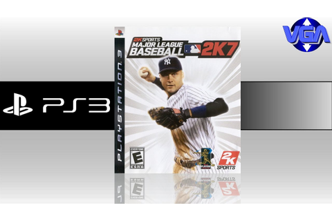 Major League baseball 2k7 Gameplay PS3 ( 2007 ) - YouTube