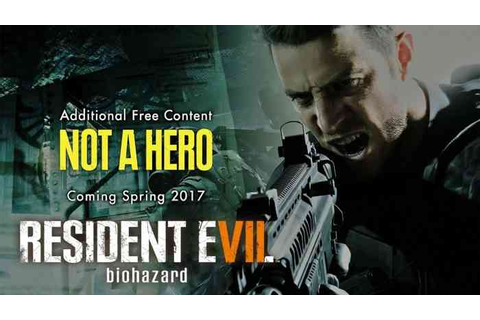 Resident Evil 7 DLC 'Not a Hero' Is Looking Good in New ...