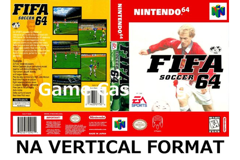 FIFA Soccer 64 N64 video game case | Game Case King ...
