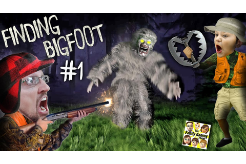 FINDING BIGFOOT GAME! Caught on Tape by FGTEEV! Mission ...