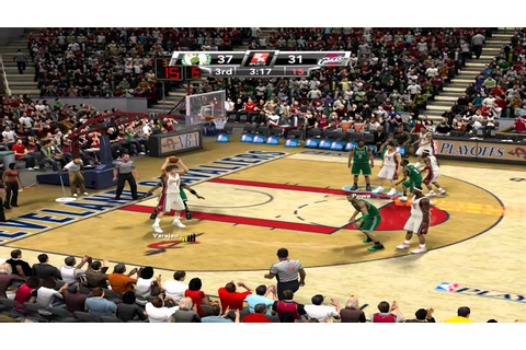 NBA 2K9: Playoffs -- Round 2 - Game 3 -- Celtics VS ...