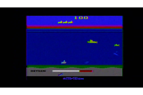 CLASSIC GAMES REVISITED - Seaquest (Atari 2600) Review ...