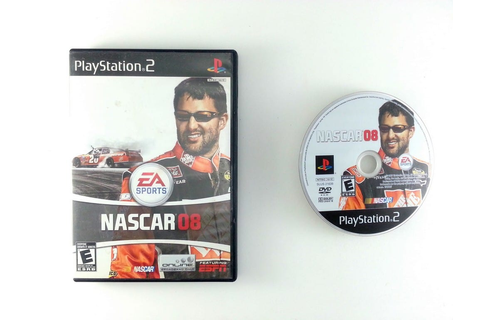 NASCAR 08 game for Playstation 2 | The Game Guy