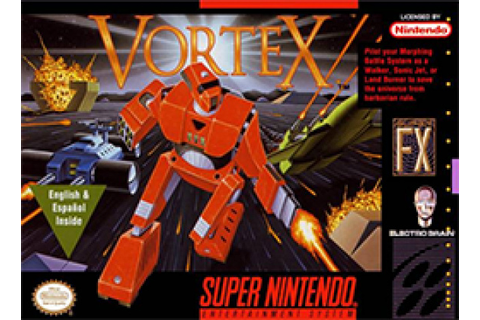 Vortex Review (SNES) | Nintendo Life