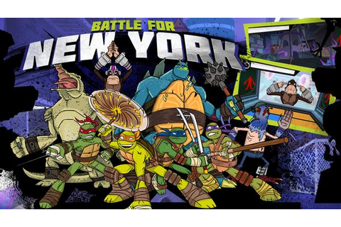 Teenage Mutant Ninja Turtles: Battle For New York Action Game