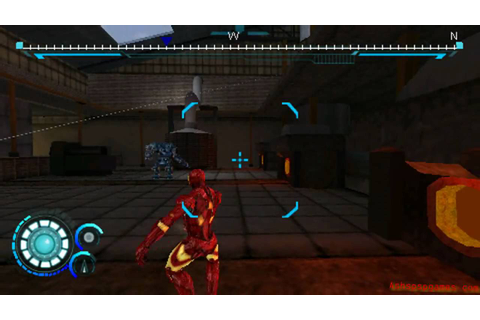 Iron Man 2: The Video Game - PSP - #02. Black Gold [1/2 ...