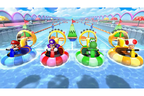 Mario Party 10 - All Free-for-All Minigames - YouTube