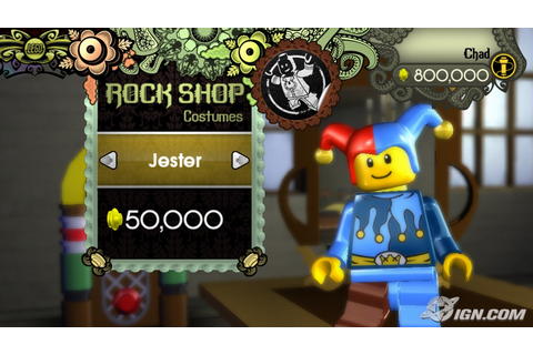 LEGO Rock Band Screenshots, Pictures, Wallpapers - Wii - IGN
