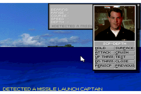SSN-21 Seawolf (1994) MS-DOS game