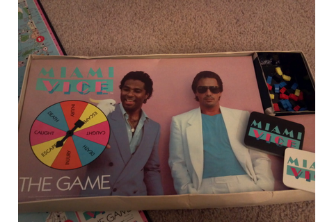 Miami Vice: The Game | A Board Game A Day
