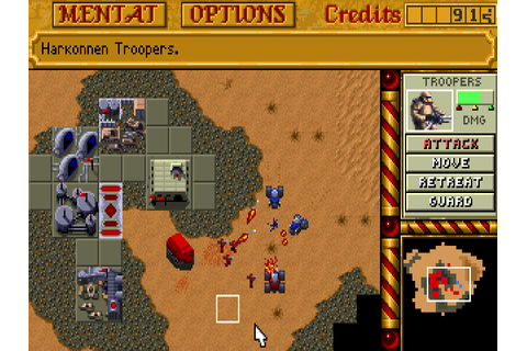 Download Dune II: The Building of a Dynasty | DOS Games ...