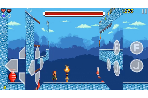 Indie Game:Goku to hell - Pixel style side-scroller game ...