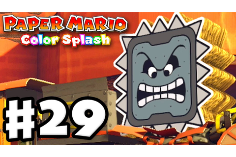 Paper Mario: Color Splash - Gameplay Walkthrough Part 29 ...