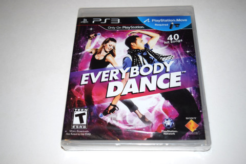 Everybody Dance Playstation 3 PS3 Video Game New Sealed ...