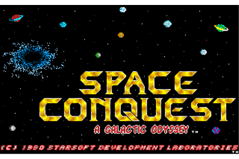 Download Space Conquest: A Galactic Odyssey - My Abandonware