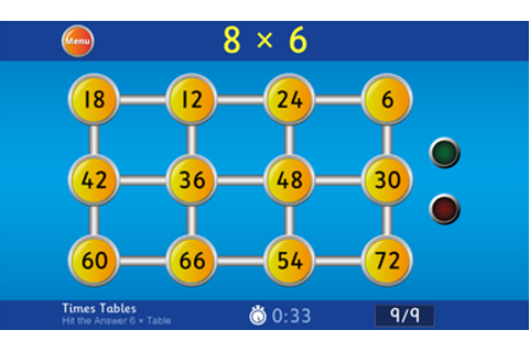 Times Table Games! | Windy Nook Primary School