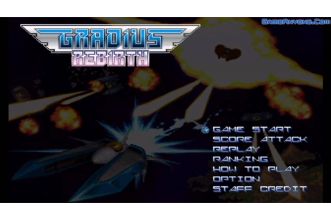 Gradius ReBirth Playthrough (Stage 1) - YouTube