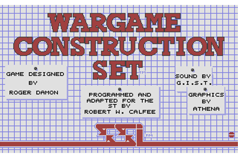 Download Wargame Construction Set - My Abandonware
