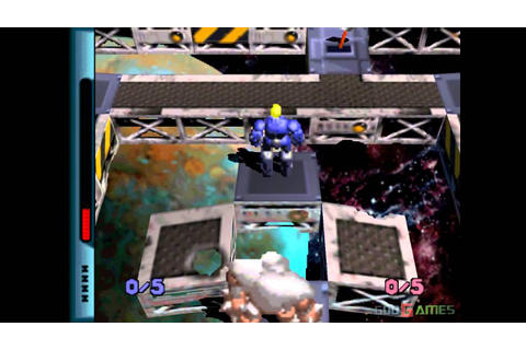 Grid Runner - Gameplay PSX / PS1 / PS One / HD 720P (Epsxe ...