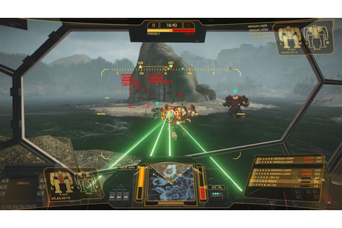 Image Gallery Mechwarrior Game