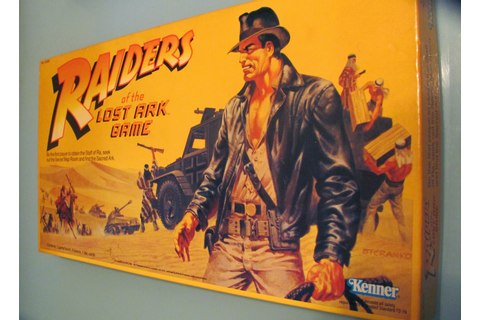 Clint Carson's Collectibles: Raiders of the Lost Ark Board ...